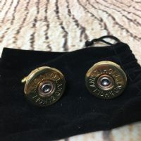 Holland and Holland cap cufflinks